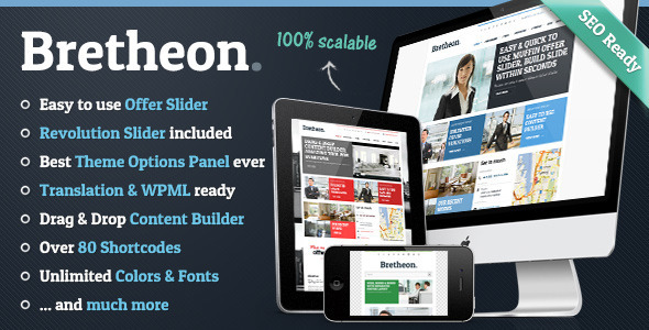 Bretheon Fast Loading WordPress Theme