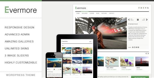Evermore Responsive WordPress Theme