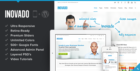 Inovado Responsive WordPress Theme