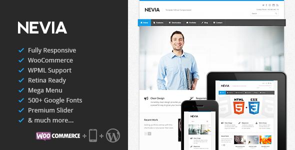 Nevia Responsive WordPress Theme