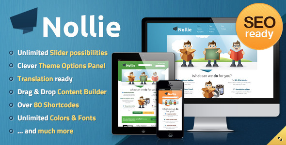 Nollie Responsive WordPress Theme