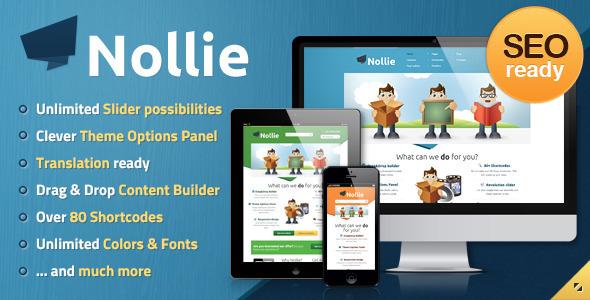 Nollie Responsive WordPress Theme
