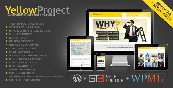 YellowProject Fast Loading WordPress Theme