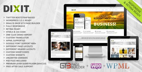 Dixit Fast Loading WordPress Theme