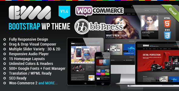 EWA Responsive WordPress Theme