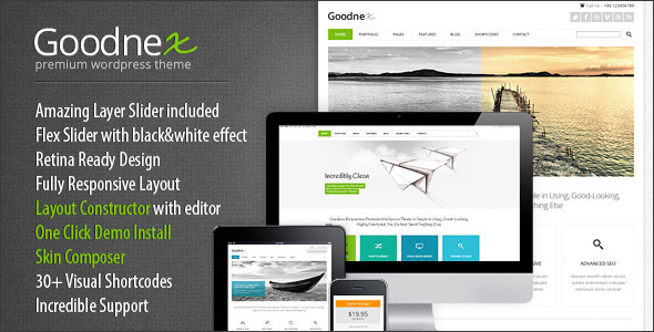 Goodnex Responsive WordPress Theme