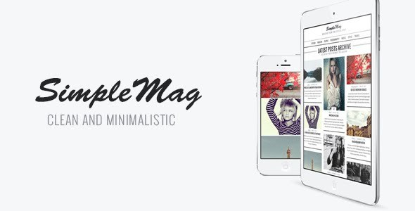 SimpleMag Responsive WordPress Theme