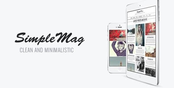 SimpleMag Responsive WordPress Theme
