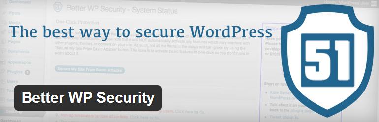 Better WP Security WordPress Plugin