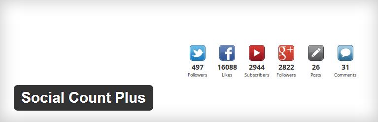 Social Count Plus WordPress Plugin
