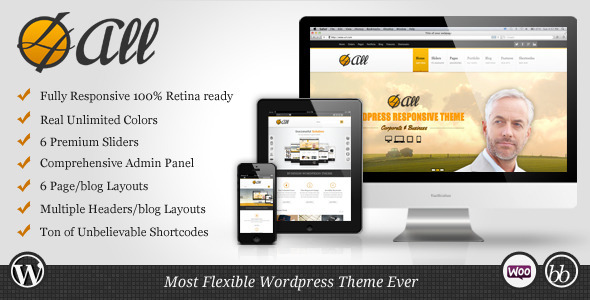 4ALL Premium WordPress Theme
