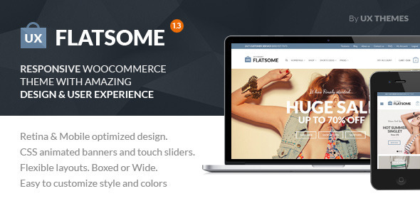 Flat Premium WordPress Theme