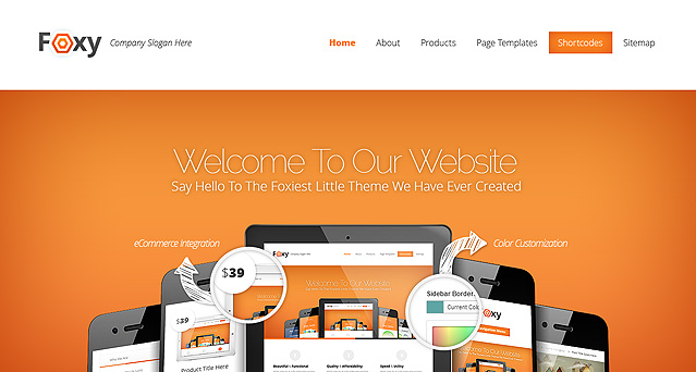 Foxy Fast Loading WordPress Theme