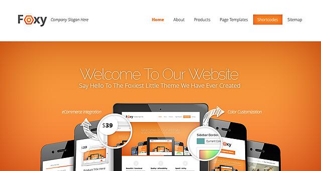 Foxy Fast Loading WordPress Theme