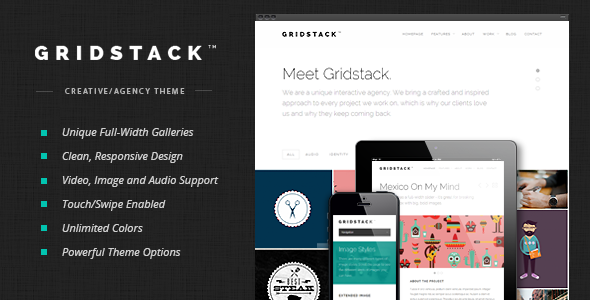 GridStack Premium WordPress Theme