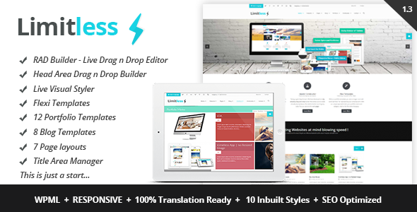 Limitless Premium WordPress Theme