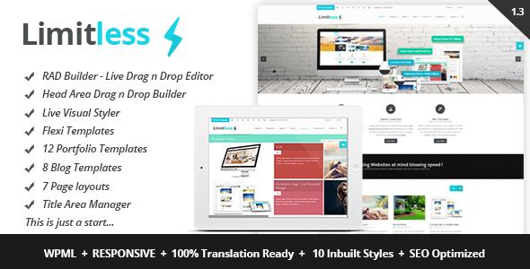 Limitless Premium WordPress Theme