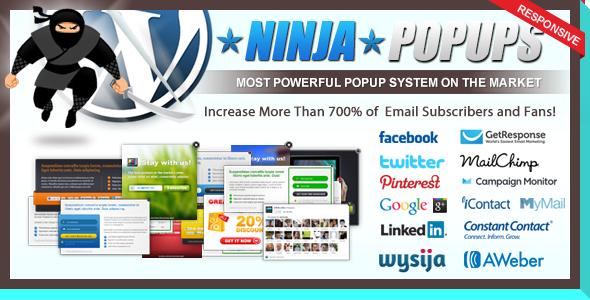 Ninja Popups for WordPress Premium WordPress Plugin