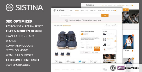 Sistina Premium WordPress Theme