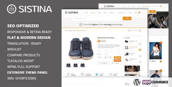Sistina Premium WordPress Theme