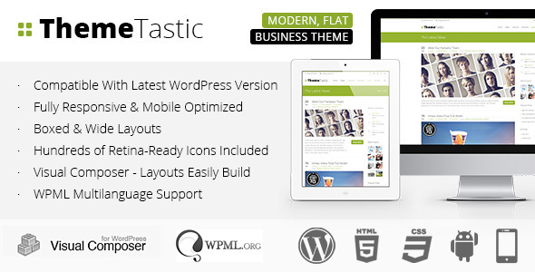 ThemeTastic Premium WordPress Theme