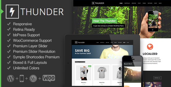 Thunder Premium WordPress Theme