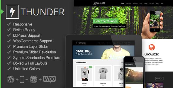 Thunder Premium WordPress Theme