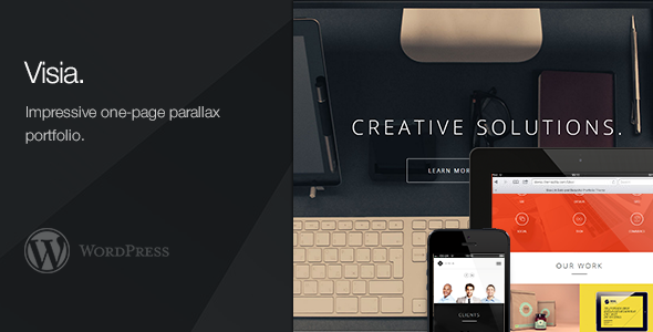 Visia Premium WordPress Theme