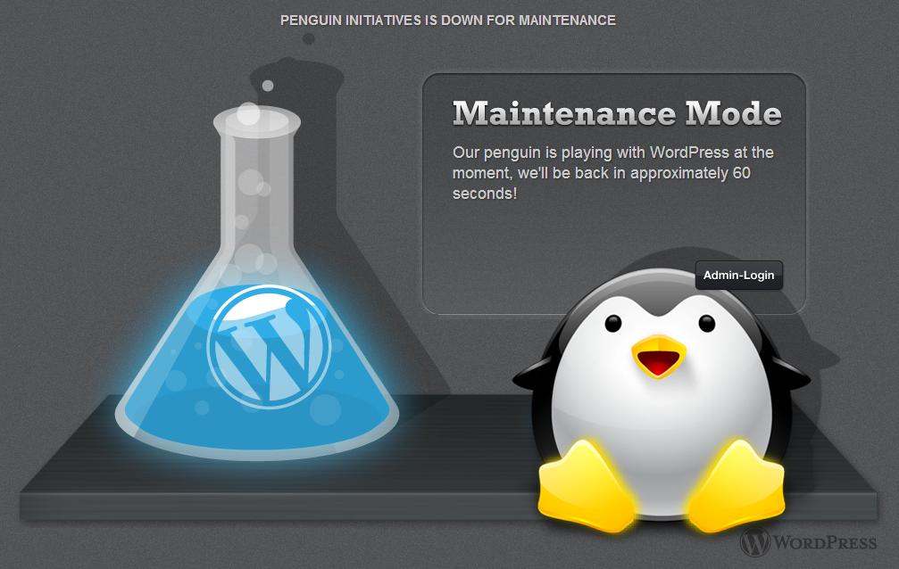 WP Maintenance Mode WordPress Plugin