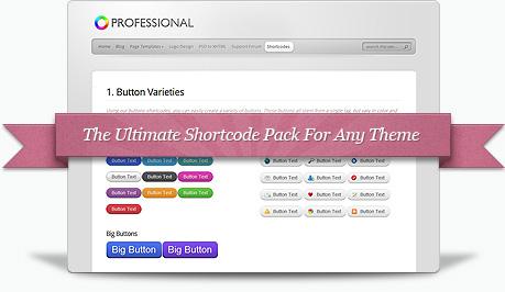 Elegant Shortcodes Premium WordPress Plugin