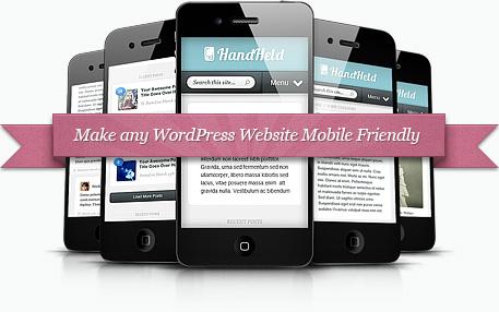 HandHeld Mobile Premium WordPress Plugin