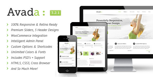 Avada Responsive WordPress Theme