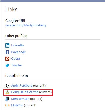 Google+ Profile Links