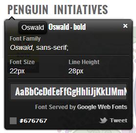 WhatFont Chrome Extension Screenshot