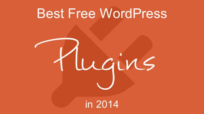 Best Free WordPress Plugins in 2014