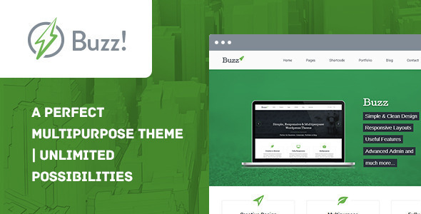 Buzz WordPress Theme