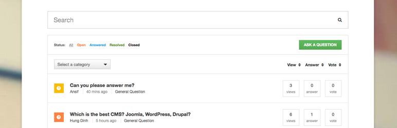 DW Question & Answer WordPress Plugin