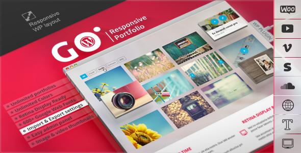 GO Responsive Portfolio Premium WordPress Plugin