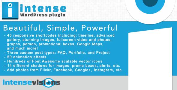 Intense Shortcodes Premium WordPress Plugin