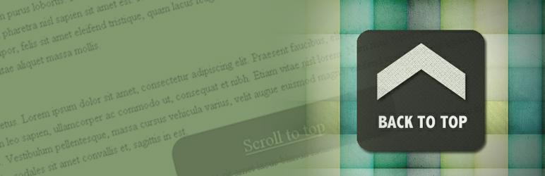 Smooth Scroll Up WordPress Plugin