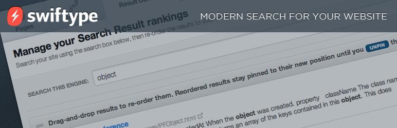 Swiftype Search WordPress Plugin