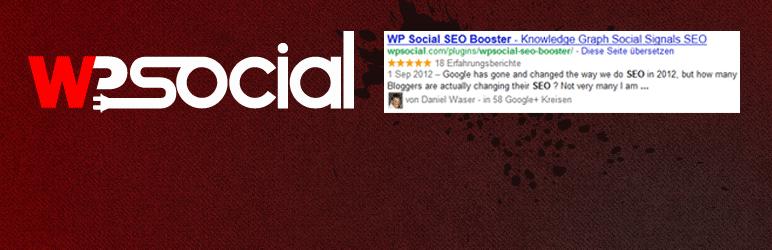 WP Social SEO Booster WordPress Plugin