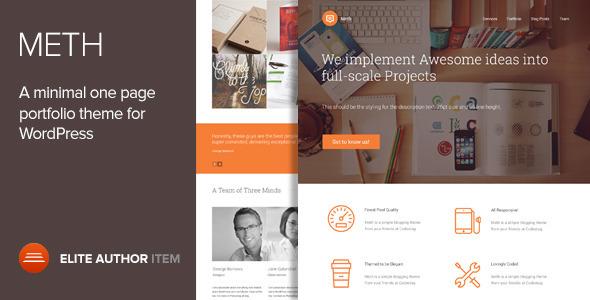 Meth Fastest WordPress Theme