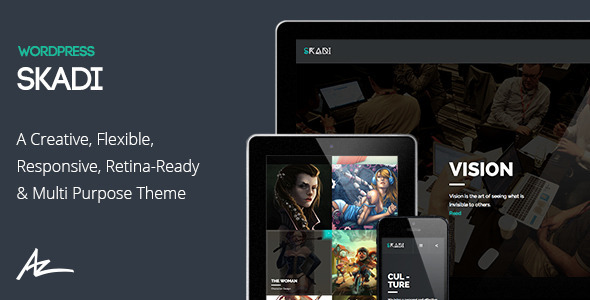 Skadi Fastest WordPress Theme