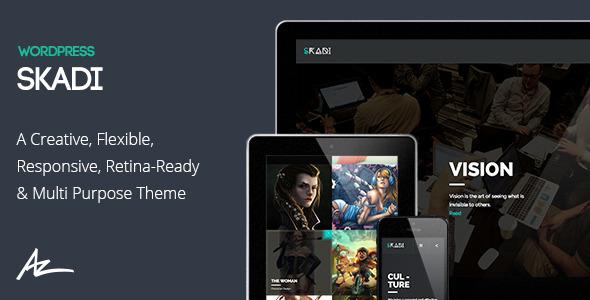 Skadi Fastest WordPress Theme