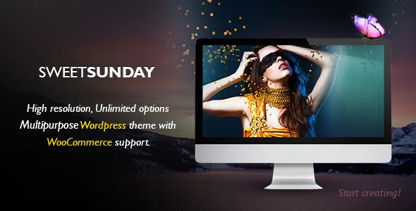 Sweet Sunday Fastest WordPress Theme