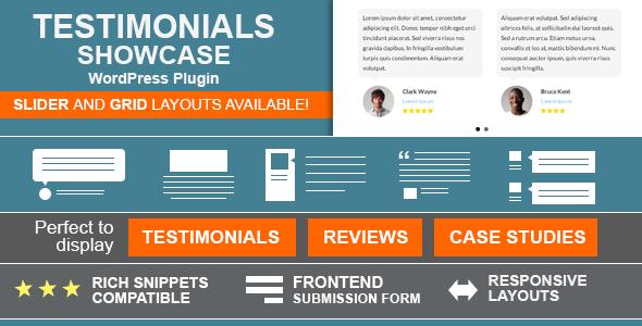 Testimonials Showcase Premium WordPress Plugin