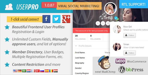 UserPro Premium WordPress Plugin
