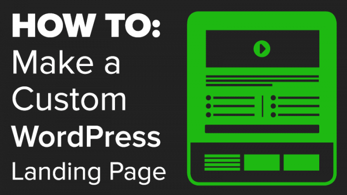 How To Make a WordPress Landing Page Template w/ Gravity Forms