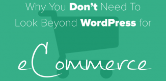 Why You Don't Need To Look Beyond WordPress for eCommerce